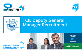 TCIL Deputy General Manager Recruitment
